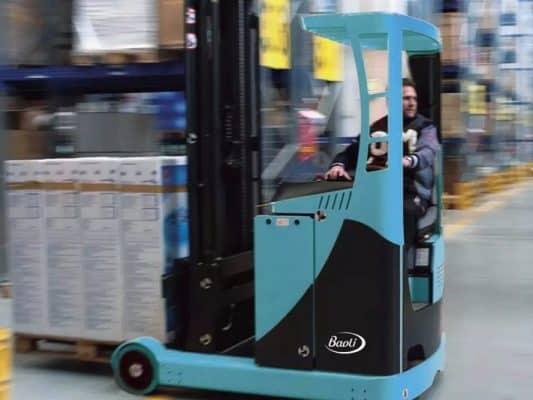 The Baoli KBER Reach Truck Series